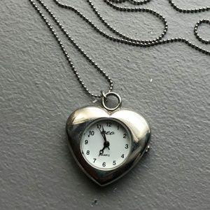 American Eagle Outfitters Clock Necklace